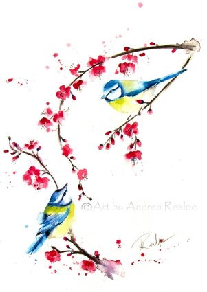 Blossoming Love copyright Andrea Realpe