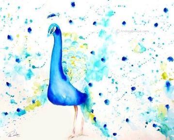 Boastful Peacock