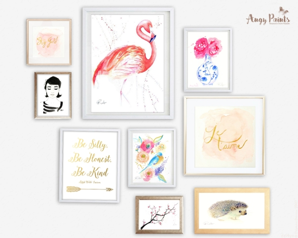 Gallery Wall Angy Paints 2